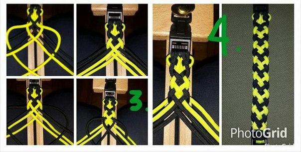 Шнуры для плетения паракорд