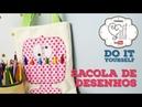DIY Sacola de Desenhos By Fê Atelier