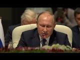 Путин. Выступление на заседании саммита БРИКС в расширенном составе