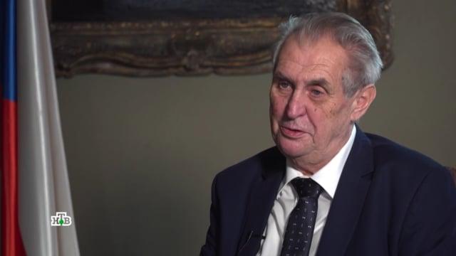 [AE News] Prezident Miloš Zeman v exkluzivním rozhovoru pro ruskou televizi NTV [CZ Titulky]