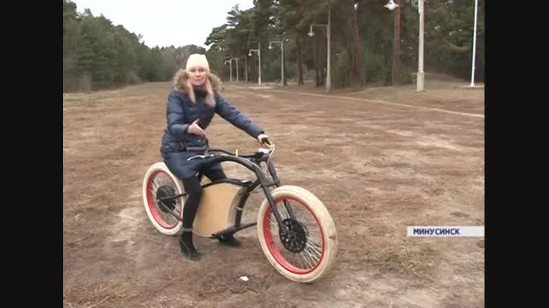 «Ощущения схожи с полетом»: изобретатель из Минусинска собрал электровелосипед