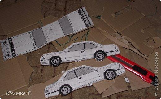 Как сделать из картона машину с фото 138