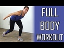 20 Minute Full Body Workout – Muscle Toning and Fat Burning Exercises at Home – No Equipment