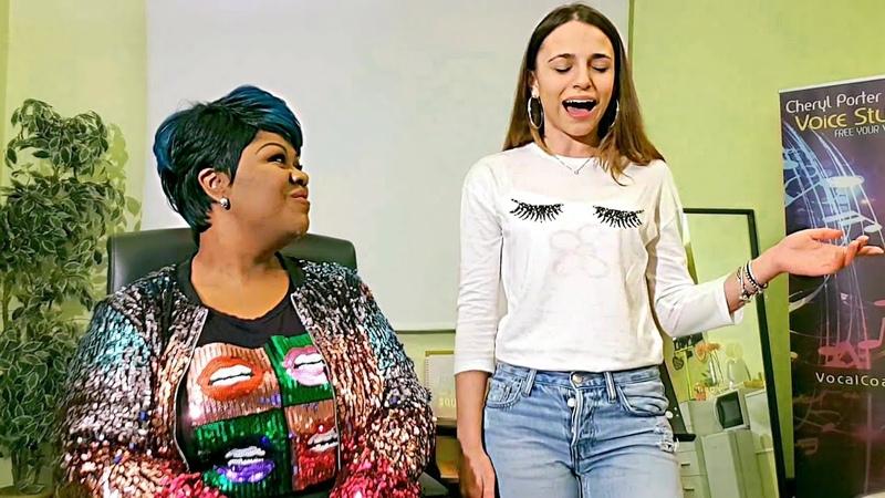 HURT Christina Aguilera Vocal Coach and student Giuliana EN SUBS