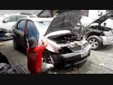 Отреставрировал разбитое авто