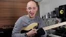 Применение пентатоники на практике часть 2 урок бас гитара