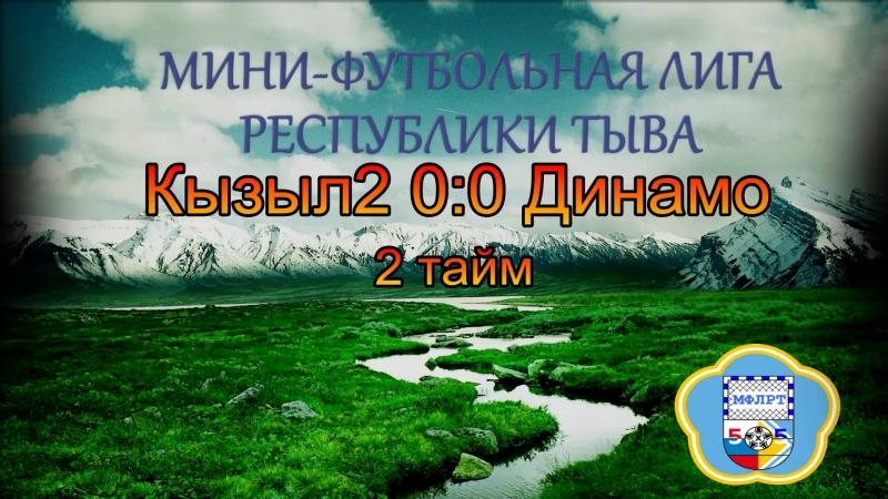 Кызыл2 0:0 Динамо