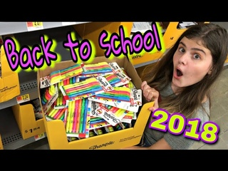 BACK TO SCHOOL 2018 Школьница покупает американскую канцелярию для школы!!!! Бэк ту скул в США