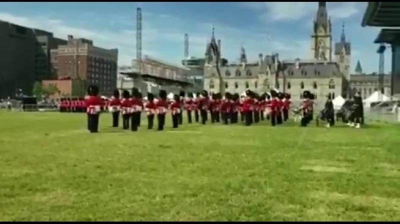 Почесний караул в Канаді змінили під звуки української пісні
