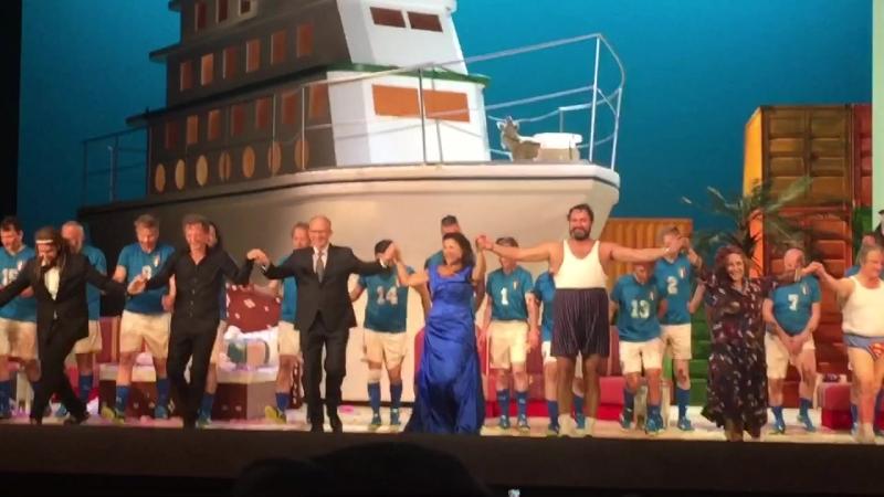 Поклоны после «Итальянки в Алжире» (19.08.18 Зальцбургский фестиваль)