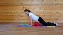 Растяжка для снятия напряжения со спины после тренировки