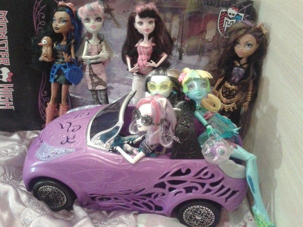 Машины для кукол монстр хай