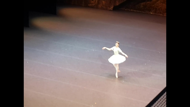 Ксения Жиганшина Па де де из балета Спящая красавица