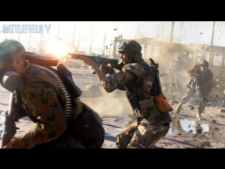 Battlefield 5  Официальный трейлер для Gamescom  Разрушение Роттердама