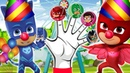 Pj Masks in Circus Finger Family | Funny Nursery Rhymes for Kids