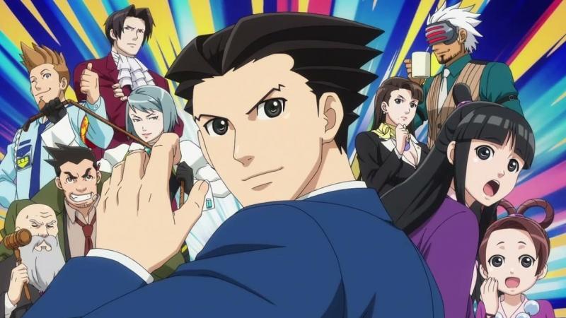 OP Gyakuten Saiban Sono Shinjitsu Igi Ari Ace Attorney Переворотный суд 2