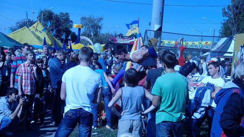 праздник с клоуном - Золотий Пензлик