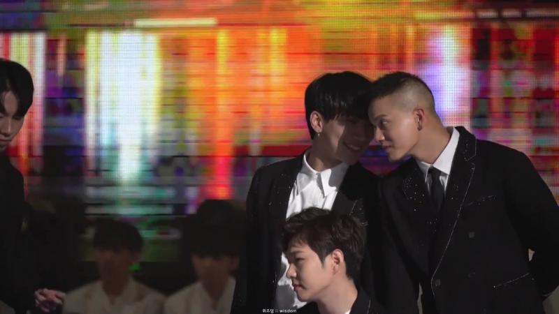 [FANCAM] 31.12.2017: BTOB - Missing You (Фокус на Ынквана) @ MBC Gayo Daejejeon