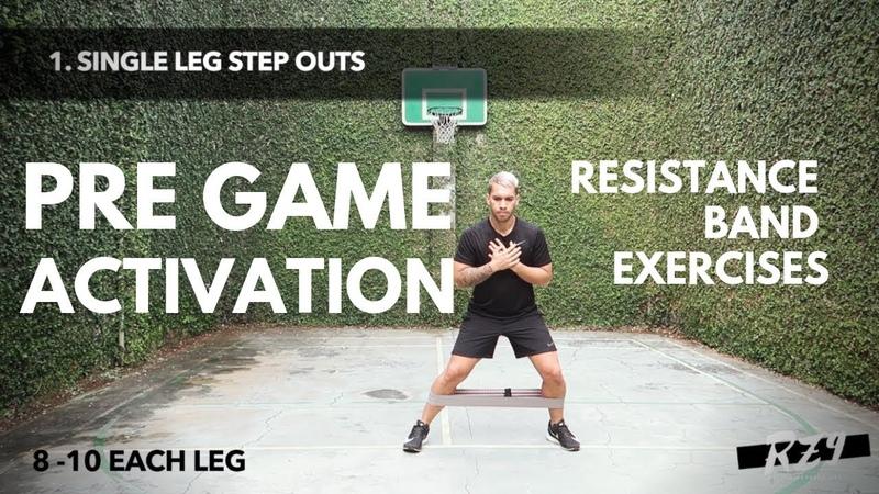 RESISTANCE BAND PRE GAME ACTIVATION EXERCISES - Rico Zulkarnain
