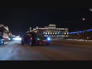Новогодний Дрифт #НАХОДАХ #НЕЛЕГАЛ Borsh Stilov