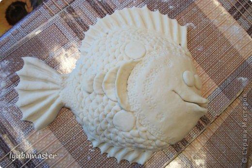 фото рыбки из соленого теста