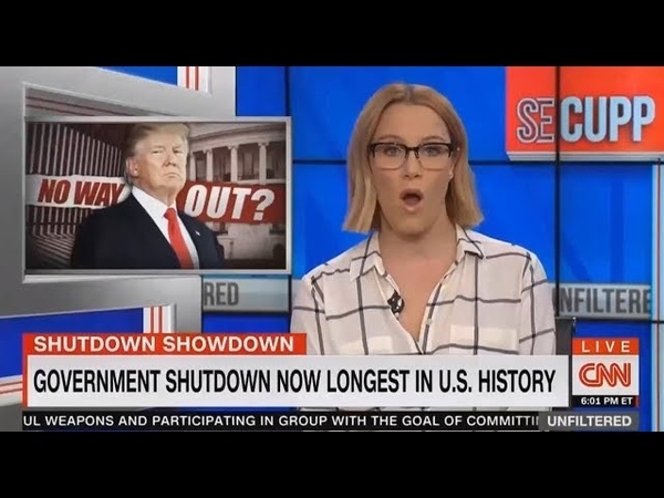 URGENT!! Breaking News President Trum with CNN S.E. Cupp Unfiltered [7PM] 1.12.2019