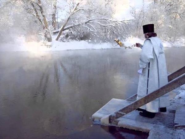 Прот. Андрей Ткачев. Об освящении воды на Крещение Господне