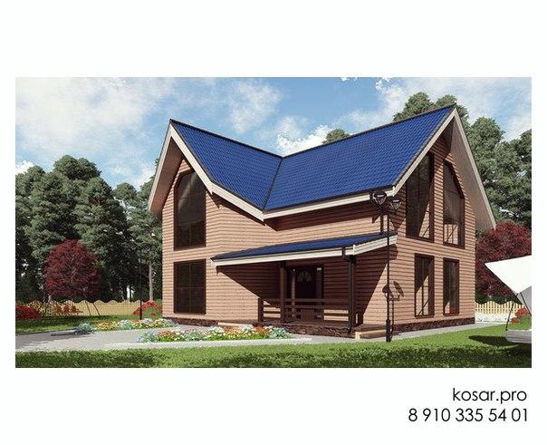 Двухэтажный дом 5015