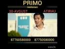 20 - Avgust ATIRAU qalasi PRIMO restoraninda saat - 21:00 de, TIMUR KARASHAEV ja'ne DANIK Baylanis ushin telefon:  📞877605