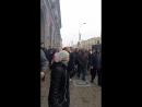 Дэманстранты прайшлі каля будынка КДБ пад лозунгі з патрабаваннем вызвалення ўсіх затрыманых.