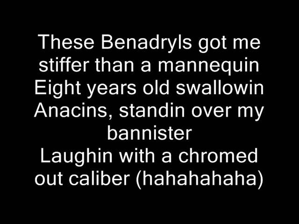 D12 - These Drugs (W/ Lyrics)