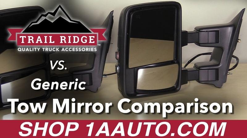 Trail Ridge Tow Mirror vs. Generic Tow Mirror