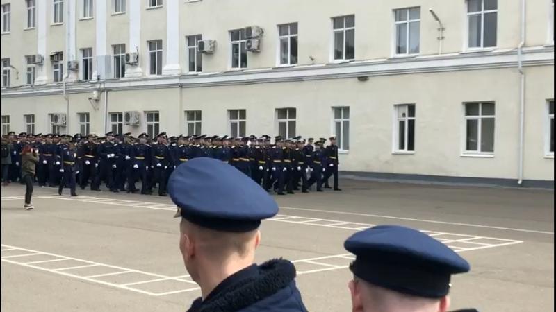 Выпуск лейтенантов КВВАУЛ 2018