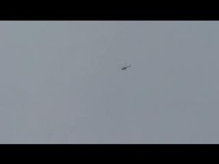 (08.06.2017) В Ми-8МТВ-5 Мачулищи Парада 50-я смешанная авиационная базаМинский район вертолеты группа