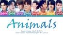Super Junior 슈퍼주니어 – Animals Color Coded Lyrics/Han/Rom/Eng/Pt-Br