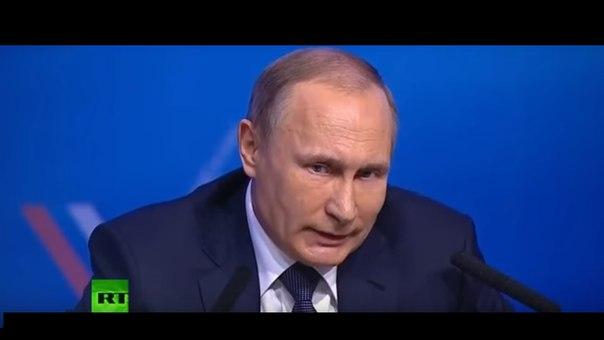 В.Путин: - Передача Украине русского Донбасса - это бред!