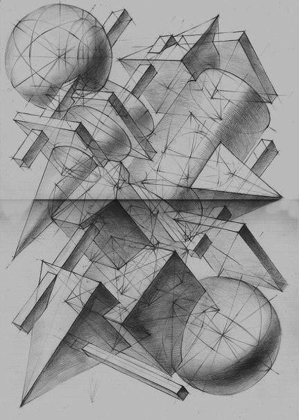 Композиция в геометрическом теле
