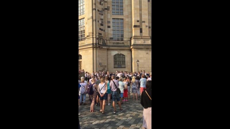 Концерт у собора Мария кирхе