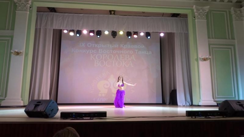 Красильникова Ирина Юниоры Классическая и Эстрадная Арабская песня