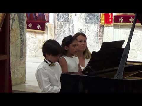 J. Brahms, Hungarian Dance No:11, Yuri Vesnyak, Karlson, Can Saraç Duru Ercoşkun Duo Piano