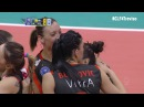#CLF4Treviso: Special point by Maja OGNJENOVIC in the second set