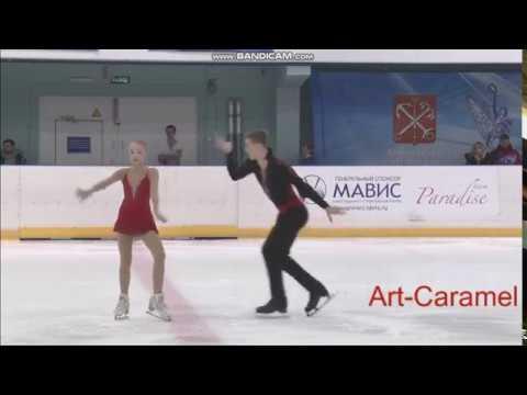 Анна Щеглова - Илья Калашников КП КМС Первенство Санкт-Петербурга 2018