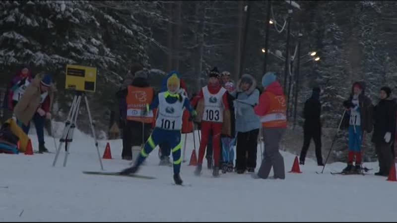 Проект РУСАЛа На лыжи. Лыжная гонка Вечерний Североуральск