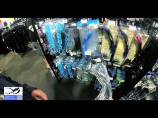 Магазин для подводной охоты и дайвинга в Майами. Покупка трубки и маски