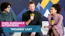 Armie Hammer Talks Deep 'Wounds' and Zazie Beetz's Talks 'Joker' During Sundance Interview