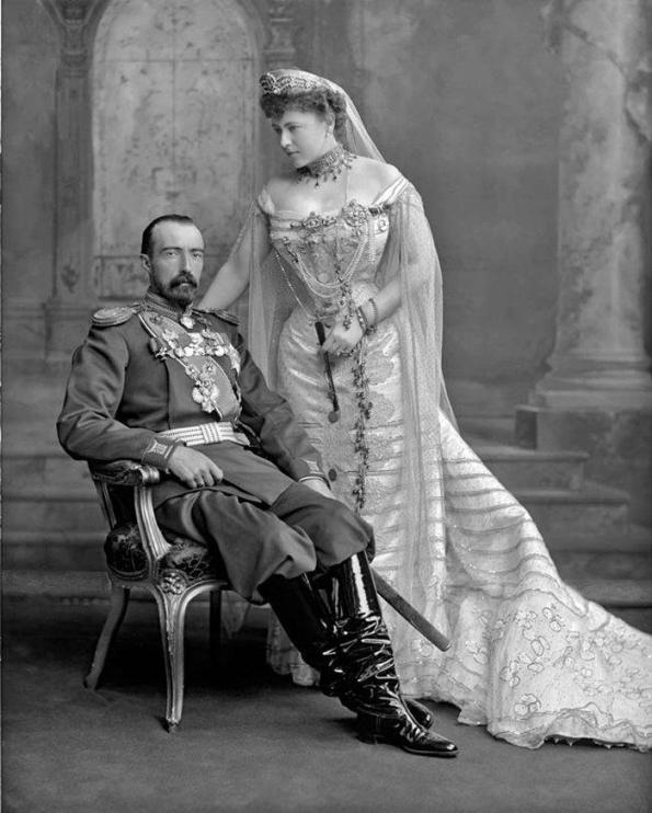 Михаил Михайлович и Софья Николаевна