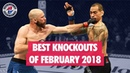 Best MMA Knockouts of February 2018