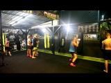 Школа бокса Good Old Boxing - Отработка комбинаций на мешках(31.03.17)
