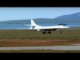 Tu-160 'The White Swan' in town of Anadyr (Russia's Far East)