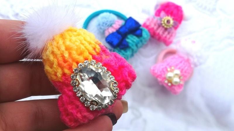 Шапочка спицами своими руками , мк Knitting hat with his handsSombrero de tejer con las manos.
